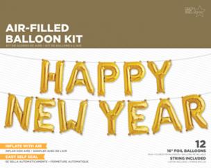 Folienbuchstaben ,Happy new Year