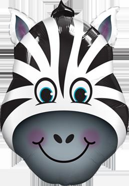 Folienballon, Zebra