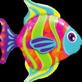 Folienballon in Fischform