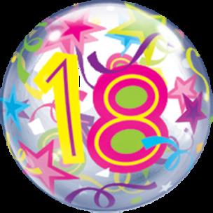 Bubble mit einer 18