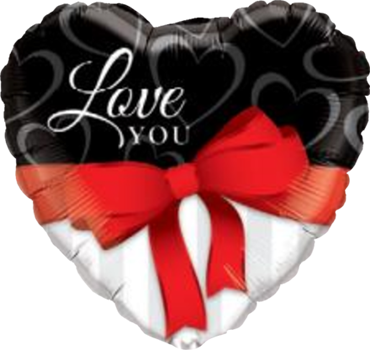 Folienballon, I Love you