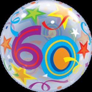 Bubble mit einer 60