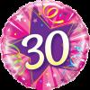 Folienballon zum 30. Geburtstag