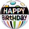 Bubble mit Happy Birthday