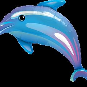 Folienballon, Delphin