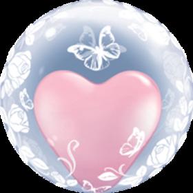 Deco-Bubble mit Schmetterlinge