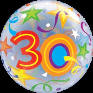 Bubble mit einer 30