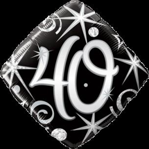 Folienballon 40. Geburtstag