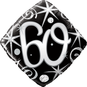 Folienballon 60. Geburtstag