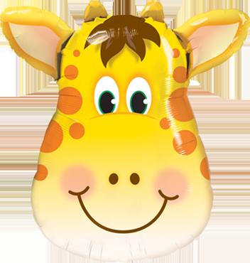 Folienballlon, Giraffe