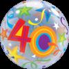 Bubble mit einer 40