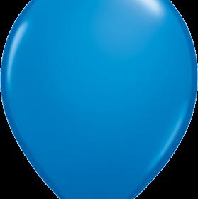 """Rundballon 11"""" Blau"""