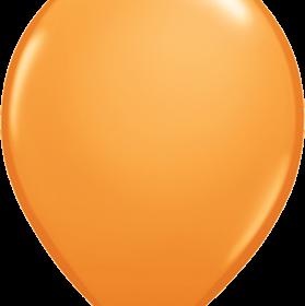 """Rundballon 11"""" Orange"""