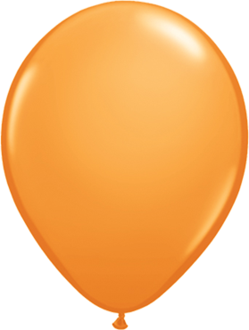 "Rundballon 11"" Orange"