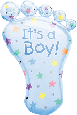 "Folienballon ""its a Boy!"""