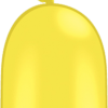 Modellierballon Gelb 260Q
