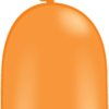 Modellierballon Orange 260Q
