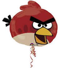 Folienballon Angry Bird