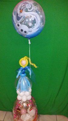 Geschenkballon mit Anna