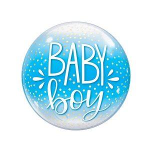 Bubble Baby boy Zur Geburt
