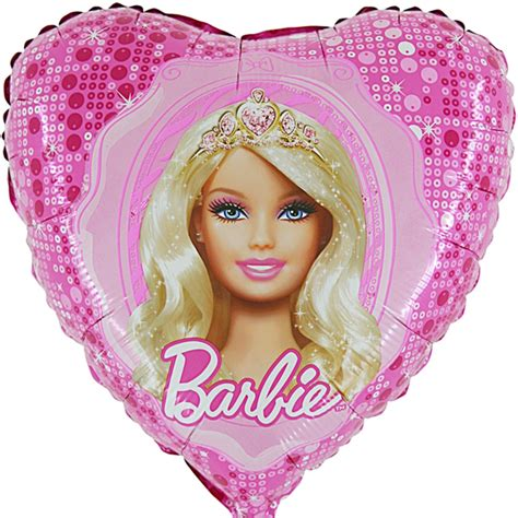 Folienballon Herz Barbie