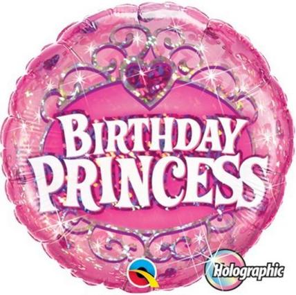 Folienballon, Birthday princess
