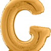 Buchstabe G in Gold