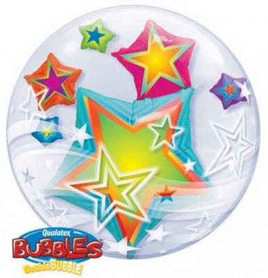 Double Bubble mit Sternen