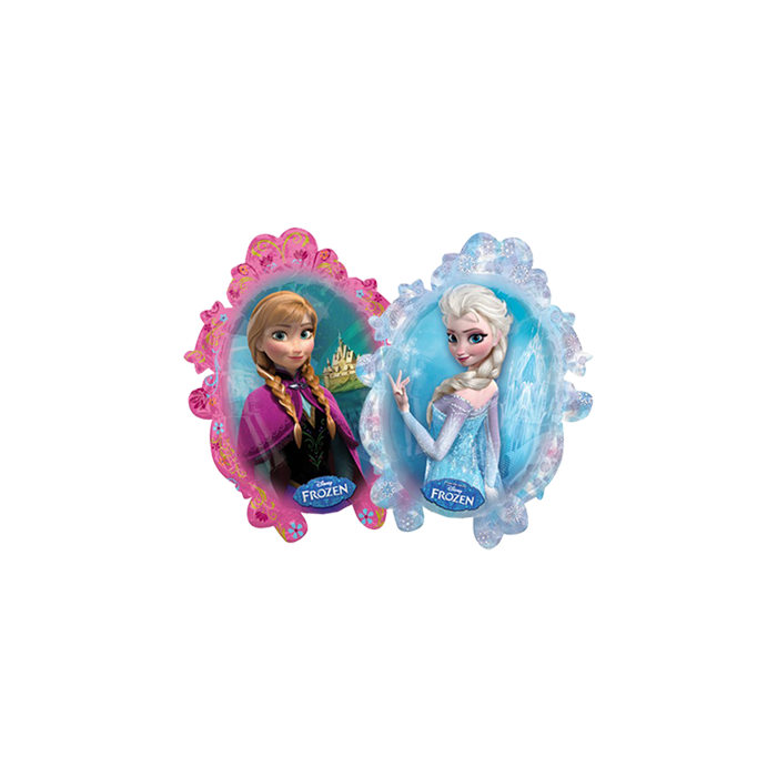 Folienballon Anna und Elsa