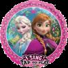 Folienballon Eiskönigin Anna und Elsa
