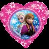 Folienballon als Herz Anna und Elsa