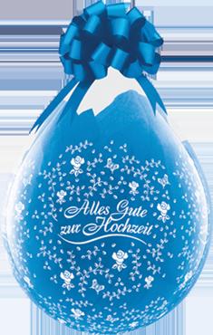 Geschenkballon-Alles Gute zur Hochzeit