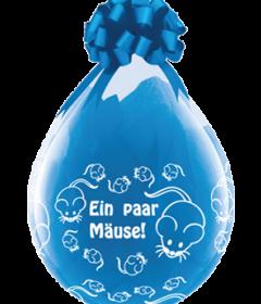 Geschenkballon-Ein Paar Mäuse