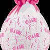 Geschenkballon-Its a Girl