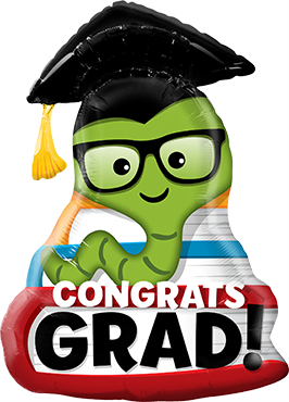 Folienballon Gratulation zum Studium