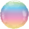 Folienballon Pastel Regenb
