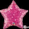 Holographischer Stern in Magenta
